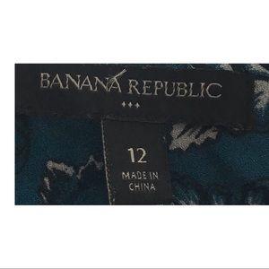 Banana Republic Dresses - Banana Republic dress floral long sleeve ruffles